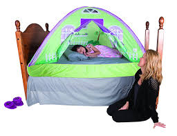 Amazon Pacific Play Tents Kids Cottage Bed Tent Playhouse