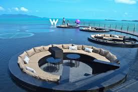 100 W Hotel Koh Samui Thailand Resort Lifestyle And Travel News