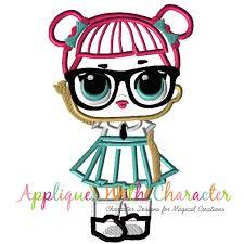 Teachers Pet Doll Applique Design LoL Suprises Pinterest