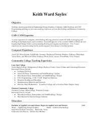 Resume Sample Objective For Manufacturing Job Best Oilfield Examples Sradd How Word To Write A Internships With No Experience Teaching Graduate