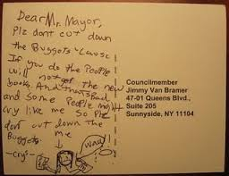 Kid s Awesome Letter to Mayor Bloomberg Do Not Cut the Library s