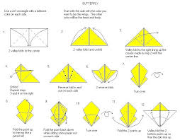 How To Make A Origami Butterfly Instructions