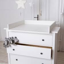 changer changing table top for ikea hemnes dresser new white by