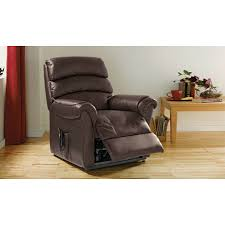 Warwick Powerlift Recliner Chair Chocolate Furnico Village