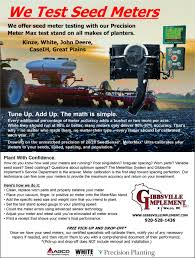 100 Truck Parts Specialists Seed Meter Testing Gibbsville Implement Calgary AB Sales Of