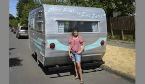 Live Small To Large Vintage Campers Inspire Bartender