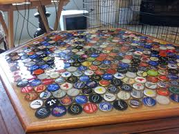DIY Beer Cap Table | Brobility The Best 28 Images Of How To Make A Bottle Cap Bar Top Virginia Tech Beer Cap Table Timelapse Youtube 25 Diy Bottle Lamps Decor Ideas That Will Add Uniqueness To Your Bar Stools Red Industrial Vibe Man Collects Caps For 5 Years Redo His Kitchen And Unique Ideas On Pinterest Art Homebrewing Fishing Beer W Epoxy Keezer Lid Coffee Rascalartsnyc How Bead Beautiful Tops 45 Cheap Outdoor Top Home