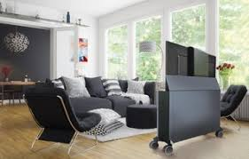 modell vistono mobiles bildschirmsideboard mit tv lift