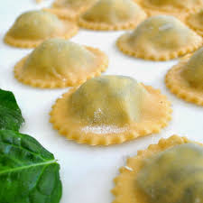 Pumpkin Ravioli Filling Ricotta by Homemade Ravioli Filled With Fresh Ricotta Cheese And Organic Baby
