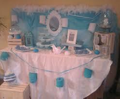 sweet table bleu blanc les chouettes moments de julie