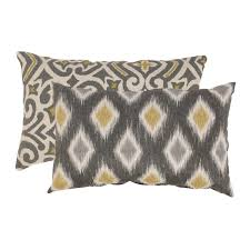 Decorative Outdoor Lumbar Pillows by Damask Throw Pillows Shop The Best Deals For Nov 2017