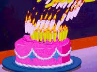 Animated Birthday Cake Image Gif