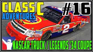 100 Nascar Truck Race Live Stream IRACING 16 CLASS C OVAL Legend 34