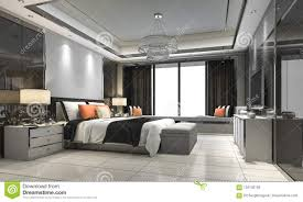 100 Modern Luxury Bedroom 3d Rendering Suite In Hotel With Decor