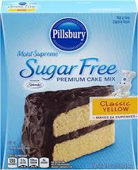 Pillsbury Sugar Free Cake Mix 2015 House Style