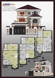 100 Villa Plans And Designs VGK009 VGK009 Exterior Komnit Khmer In Phnom Penh
