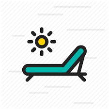 Armchair Chair Furniture Pool Seat Swimming Icon