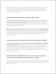 Project Manager Resume Objective Of Resumes Samples Construction