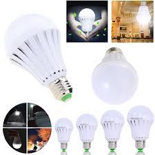 e27 led smart bulb 5w 7w 9w12w led emergency light rechargeable