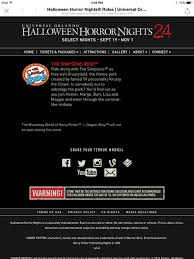 Halloween Horror Nights Frequent Fear Pass by Universal Orlando Halloween Horror Nights 24 Walking Dead In