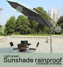 Patio Umbrella Offset 10 Hanging Umbrella by Cantilever Umbrella Umbrellas Ebay