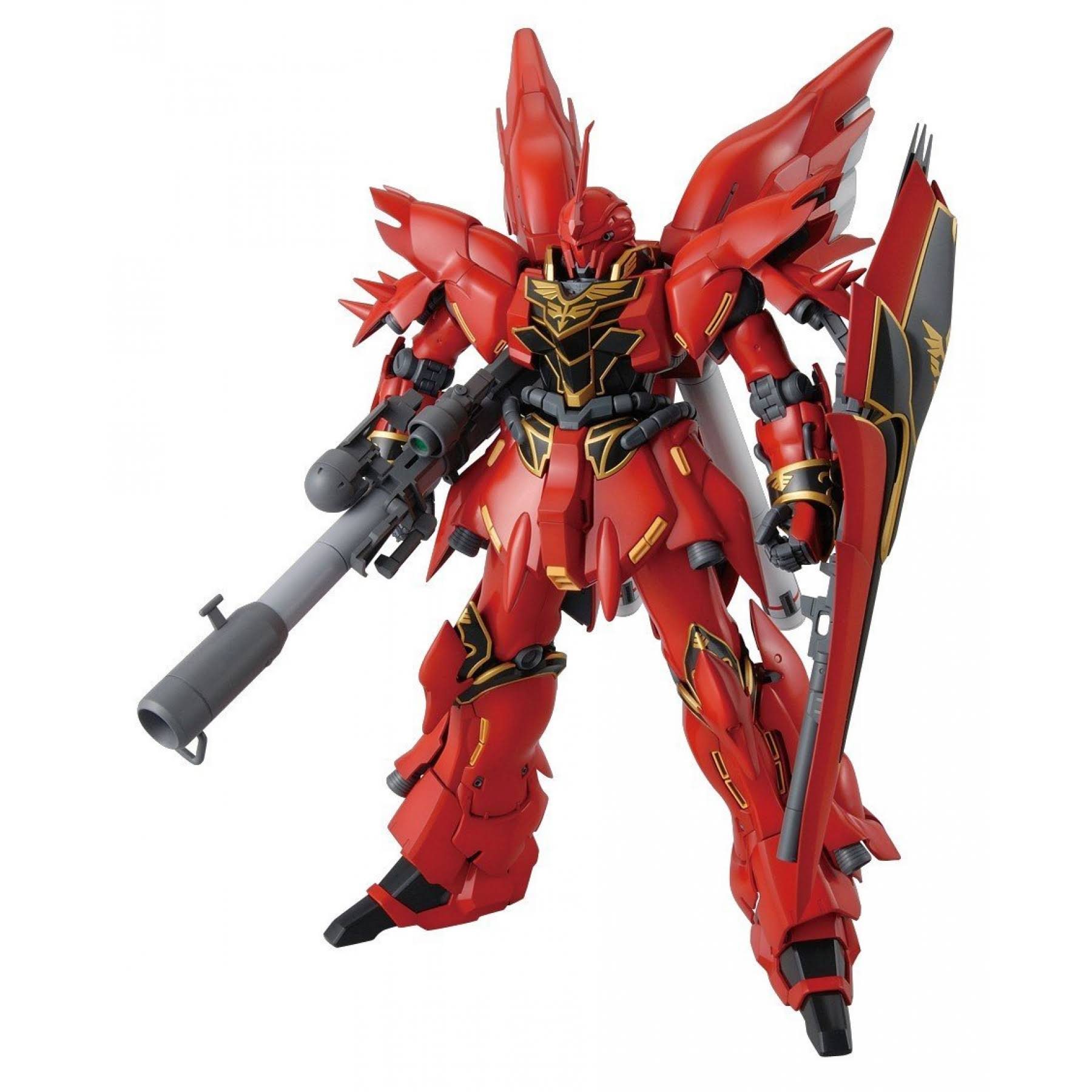 Bandai Gundam Sinanju With 1/100 Model Kit - With Bazooka
