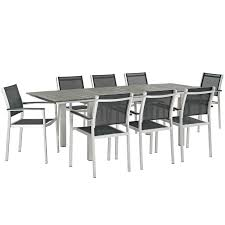 Coline 9 Piece Outdoor Dining Set Comfortcare 5piece Metal Outdoor Ding Set With 52 Round Table T81 Chair Provence Hampton Bay Mix And Match Stack Patio 49 Amazoncom Christopher Knight Home Lala Grey 7 Chairs Of 4 Tivoli Tub Black Merilyn Rope Steel Indoor Beige Washington Coal Click Pc Stainless Steel Teak Modern Rialto Rectangle 6
