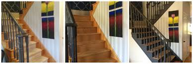 Style To Move Blog: I Did It...I Painted My Stairs Black! Best 25 Banisters Ideas On Pinterest Banister Contemporary Raymond Twist Stair Spindles 41mm Staircase Interior Stair Railing Diy Interior Elegant Prefinished Handrail Design Indoor Railings Aloinfo Aloinfo Solution Parts Shaw Stairs Staircases Oak Traditional Stop Chamfered Style Pine Hand Rails Modern Railing Wood Wall Mounted Ideas Of Fusion Walnut With Glass Panels