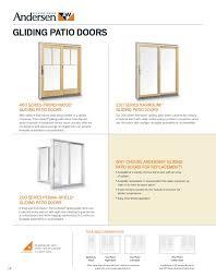 Andersen 200 Series Patio Door Lock by Brochure 400 200 Series Window Door Replacement 9046528