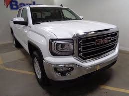 2018 New GMC Sierra 1500 4WD Double Cab Standard Box SLE At Banks ... Gmc Sierra Denali 3500hd Deals And Specials On New Buick Vehicles Jim Causley Behlmann In Troy Mo Near Wentzville Ofallon 2017 1500 Review Ratings Edmunds 2018 For Sale Lima Oh 2019 Canyon Incentives Offers Va 2015 Crew Cab America The Truck Sellers Is A Farmington Hills Dealer New 2500 Hd For Watertown Sd Sharp Price Photos Reviews Safety Preowned 2008 Slt Extended Pickup Alliance Sierra1500 Terrace Bc Maccarthy Gm
