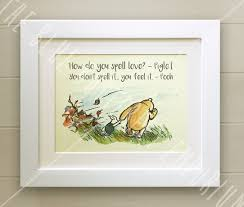 100 Winnie The Pooh Bedroom by Winnie The Pooh Framed Quote Print New Baby Birth Nursery