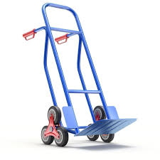 100 Hand Truck Stair Climber Climbing Hand Truck With Six Wheels 3D Model