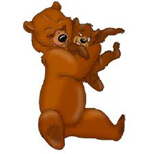 Bear Mother And Baby Cartoon Image 7