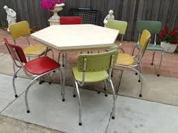 Retro Table Chairs 1950S 1960S Harlequin ERA In Sale VIC