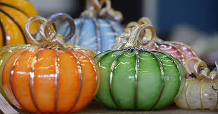 Milton Pumpkin Festival Pageant by Strong Street Studio Creates Glass Harvest For Annual Pumpkin Party