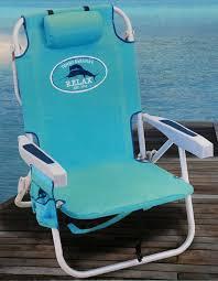 Rio Gear Backpack Chair Blue by Furniture Wearever Chair Rio Beach Umbrella Aloha Beach Chairs