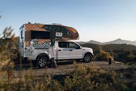 100 Pickup Truck Camping Indie Camper 3Berth Camper Rentals Escape Campervans