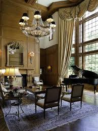 Piano In Front Of Window Old World Gothic And Victorian Interior Design Style