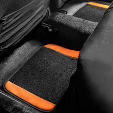 100 Truck Floor Mat BESTFH 4pc Universal Carpet S For Car SUV Orange W