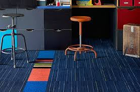 modular carpet tile about interface