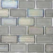 hakatai ashland sterling blend 1 x 2 glass mosaic tile buy on sale