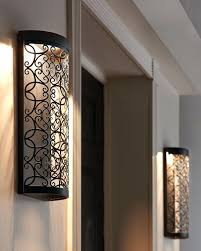 outdoor wall lighting light with gfci outlet best ideas on