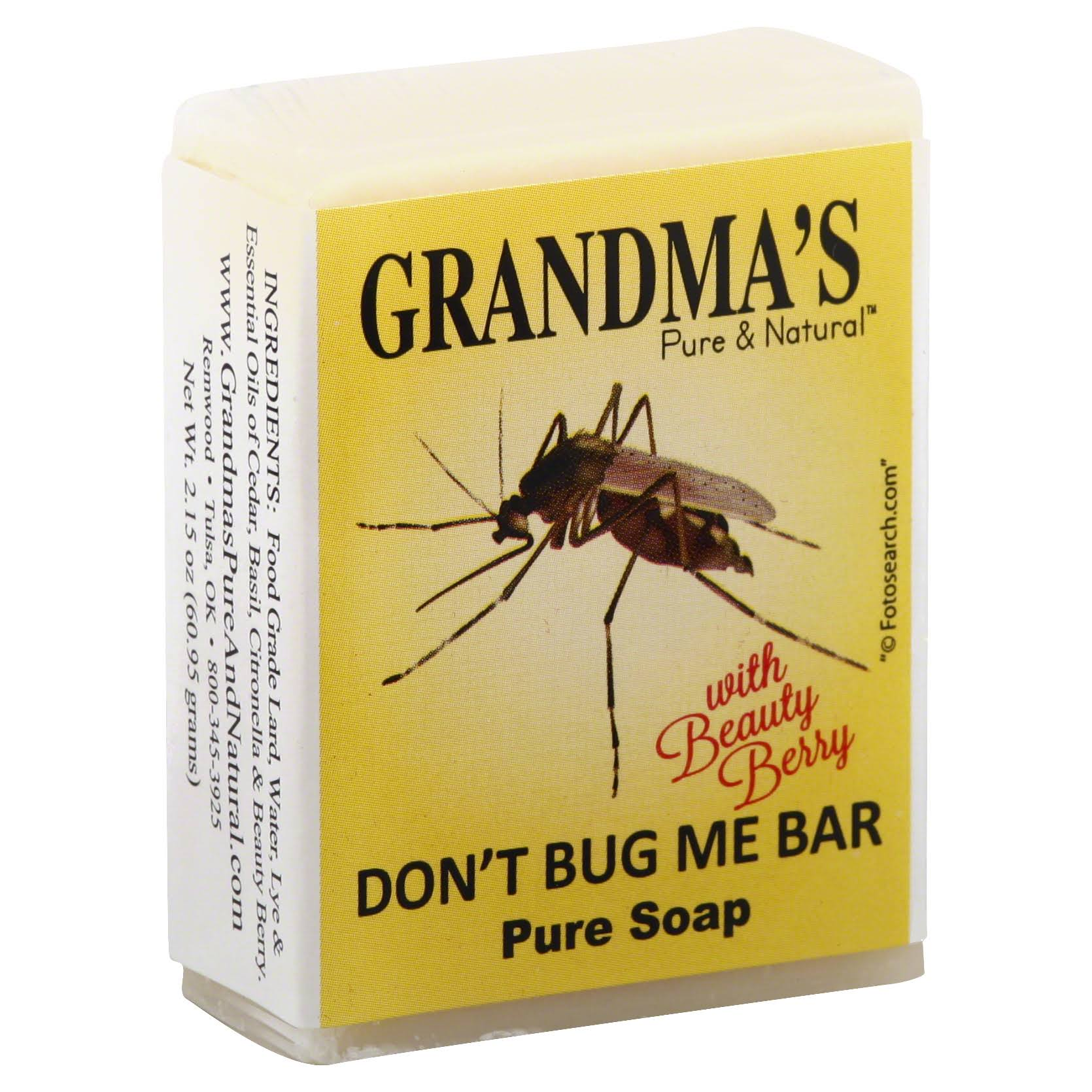 Grandma's Don't Bug Me Bar Soap