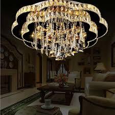 neue kristall le led deckenleuchte moderne fashion rund atmosphäre wohnzimmer le schlafzimmer le restaurant leuchten