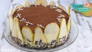 birnen schicht torte