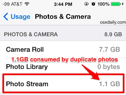 "Turn f ""My Stream"" to Free Up 1GB of Space in iOS"