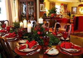 Christmas Centerpieces For Dining Room Tables by Decorating Dining Room Sets With Leather Chairs Table Setting