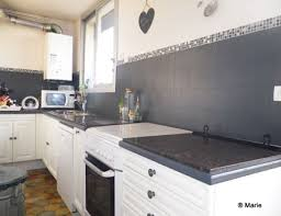 recouvrir faience cuisine recouvrir carrelage cuisine plan de travail affordable gallery of