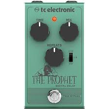 tc electronic the prophet digital delay effect pedal guitar center