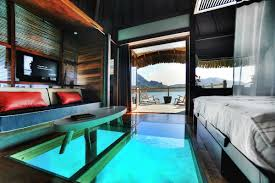 chambre sur pilotis maldives 8 hôtels bungalows romantiques qui vous donneront envie de tout